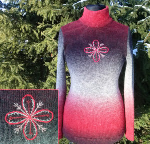 Džemper - Loojang udus, tikandiga